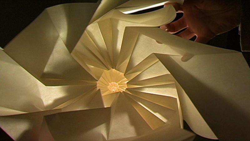 The science and art of origami